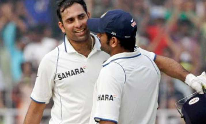 dhoni hopes for laxman s recovery before second test