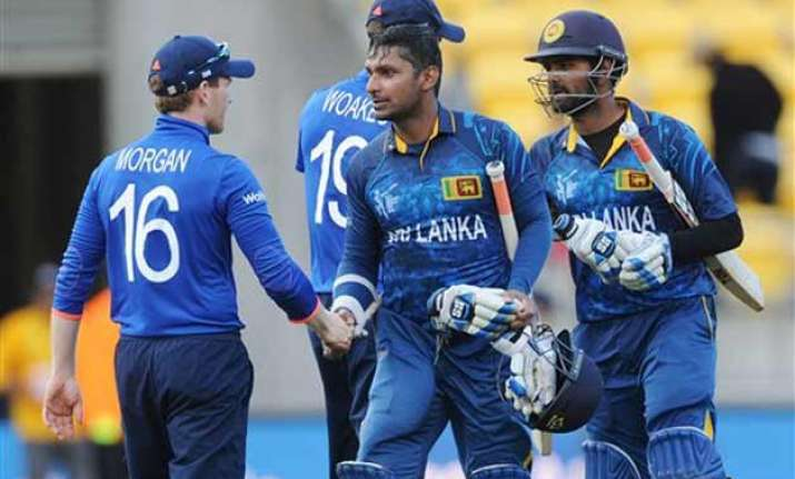 world cup 2015 sangakkara thirimanne tons help sl trounce