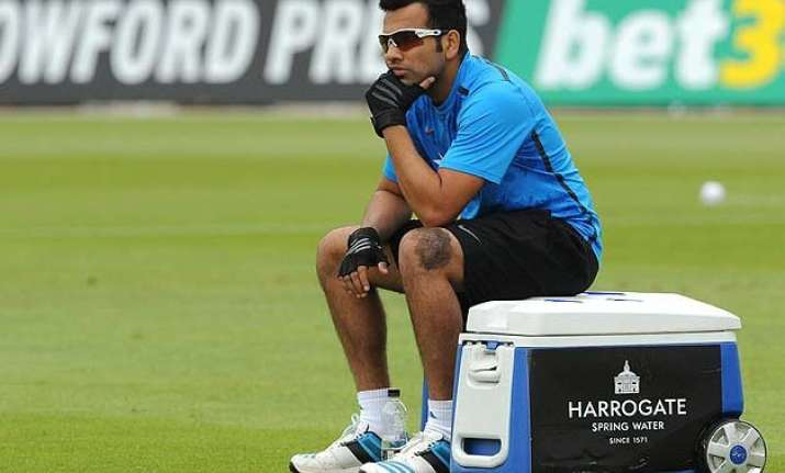 i am in a tricky position regarding my test spot rohit