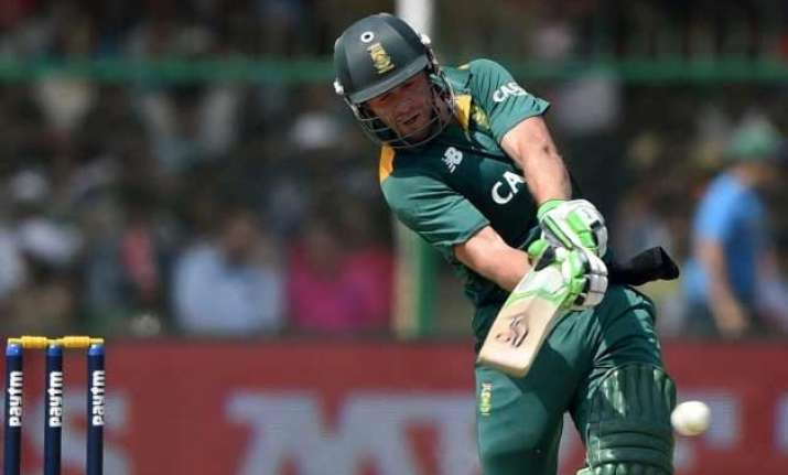 india v/s south africa de villiers ton propels proteas to