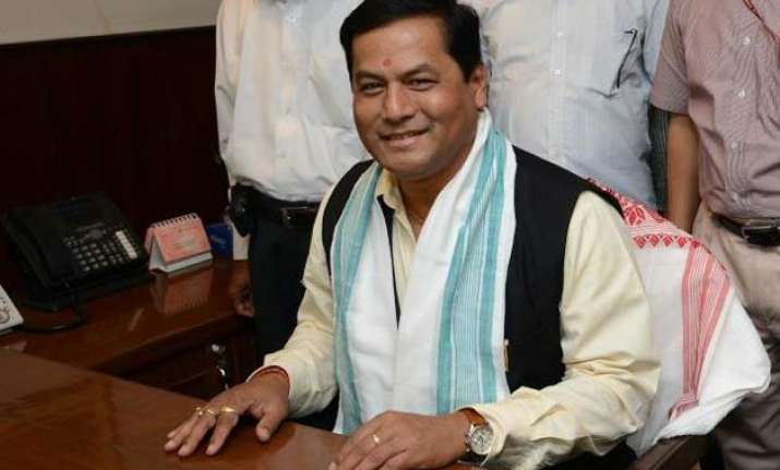 sports minister sonowal bats for indo pak series