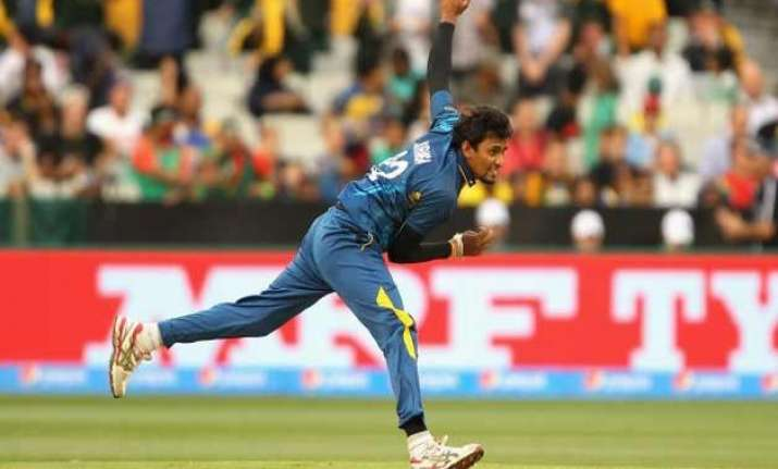 world cup 2015 suranga lakmal fined over full tosses