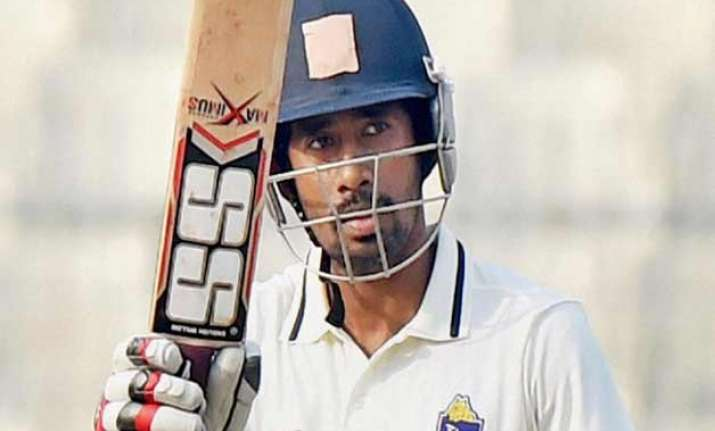 ranji trophy wriddhiman saha slams unbeaten ton to lift