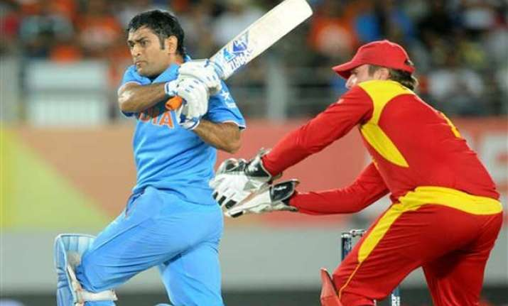 world cup 2015 india vs zimbabwe scoreboard match 39