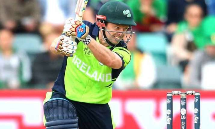 world cup 2015 joyce ton takes ireland to 331/8 vs zimbabwe