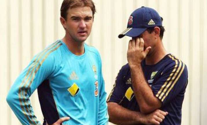hauritz will be our no. 1 spinner against india ponting