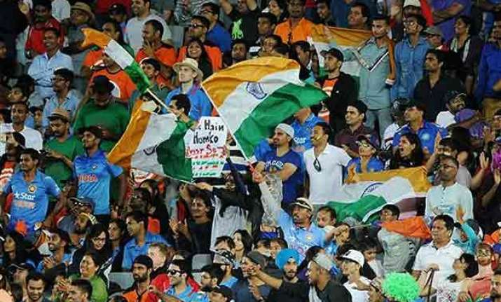 world cup 2015 indians likely to transform scg into sea of