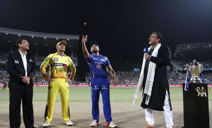 ipl 8 csk opt to field in ipl final against mumbai indians