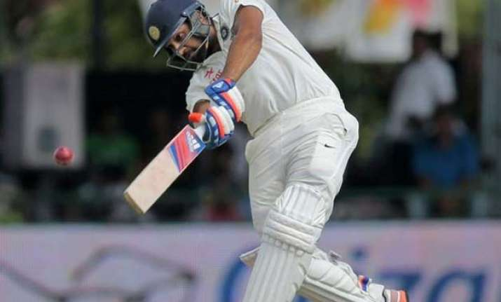 2nd test day 2 india reach 386/8 against sri lanka at lunch