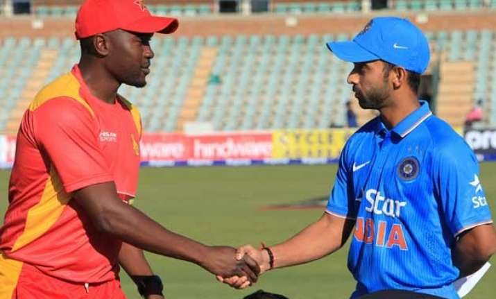 zimbabwe opt to bowl in third odi against india