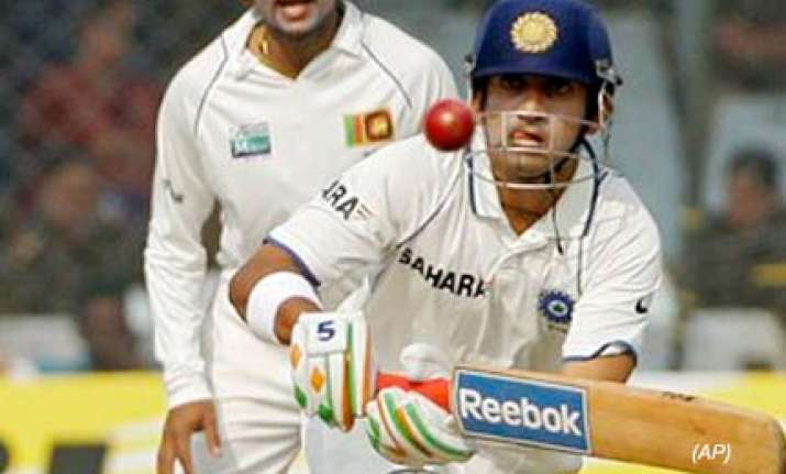 gambhir to miss third test against sri lanka