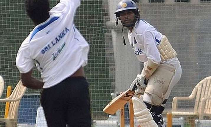dilshan suffers ankle sprain ahead of test series