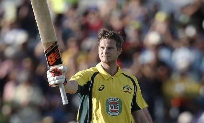 1st odi despite rohit s brilliant ton australia beat india