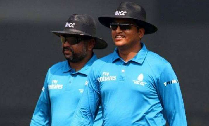 indian team files complaint against umpire vineet kulkarni