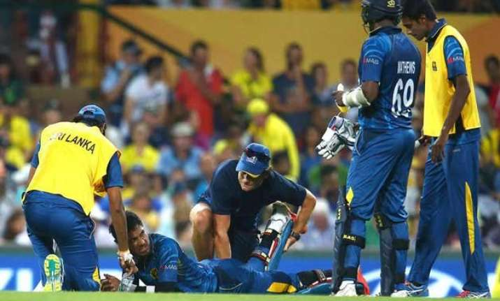 world cup 2015 injuries cause concern for sri lanka ahead