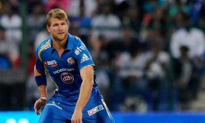 ipl 8 injured corey anderson rejoins mi squad ahead of dd
