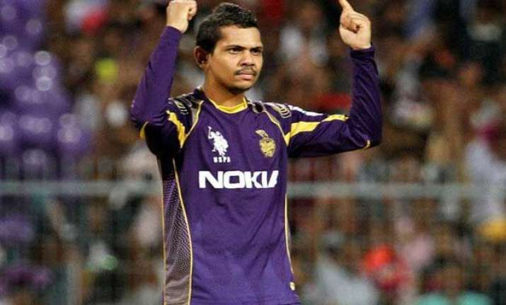 ipl 8 kkr threatens to pull out if narine is not allowed to