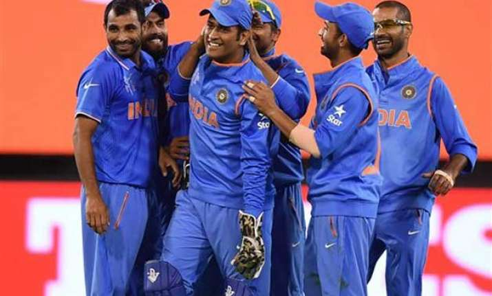 world cup 2015 five reasons why india have an upperhand in
