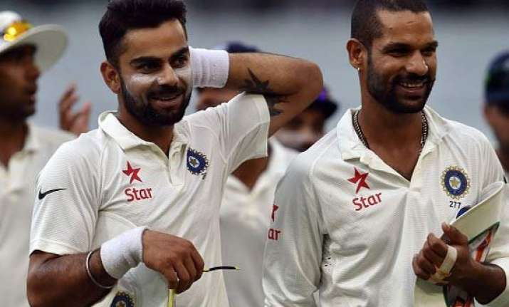 dhawan kohli spat caused unrest in indian dressing room