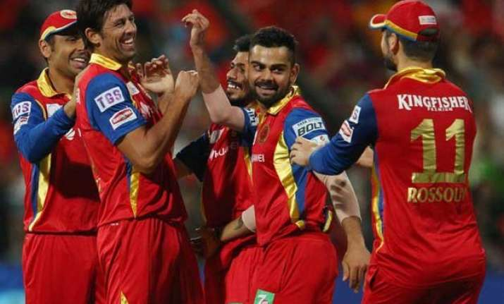 ipl 8 rcb to face csk in a high voltage encounter