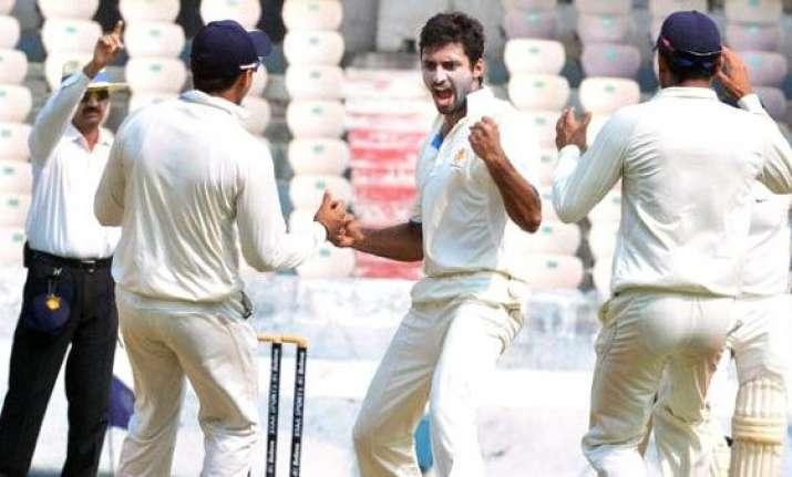 karnataka start favourites against up in ranji