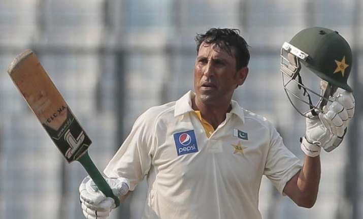 younis azhar tons lift pakistan to 323 3 on day 1