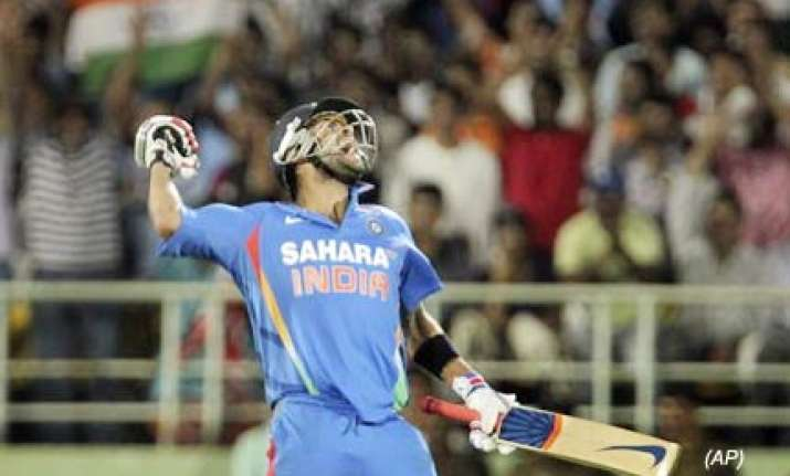 india retain 2nd spot in odi rankings career best for kohli