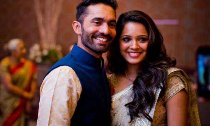 in pics dinesh karthik ties the knot with dipika pallikal