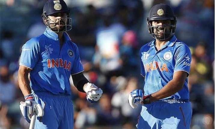 world cup 2015 india overpower uae for third win in a row