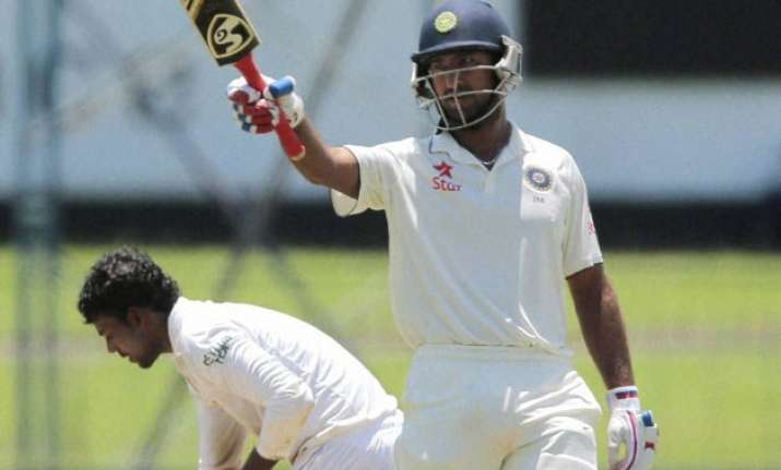 cheteshwar pujara s unbeaten 101 takes india to 220/7 at tea