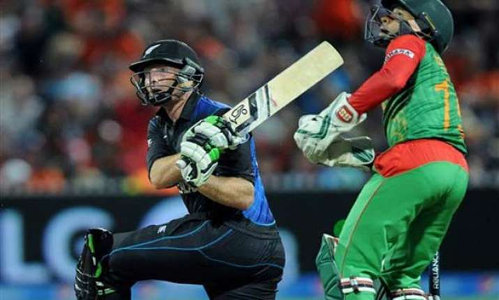 world cup 2015 new zealand vs bangladesh scoreboard match 37