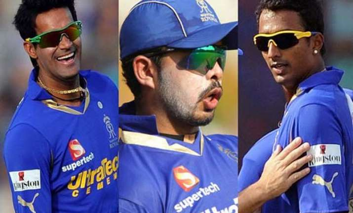 ipl spot fixing tainted trio including sreesanth cleared of