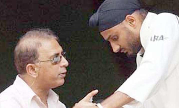 harbhajan wants to score a century for sunny bhai