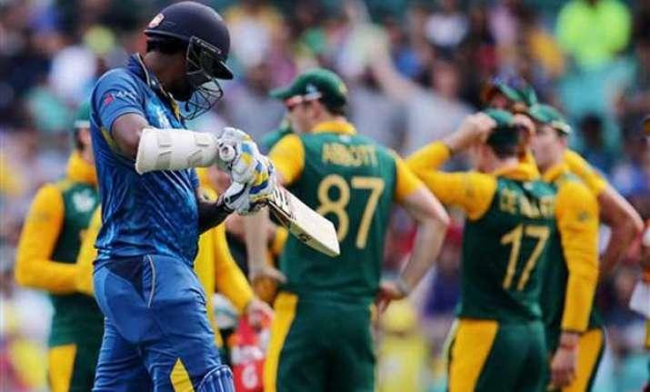 world cup 2015 south africa vs sri lanka scoreboard