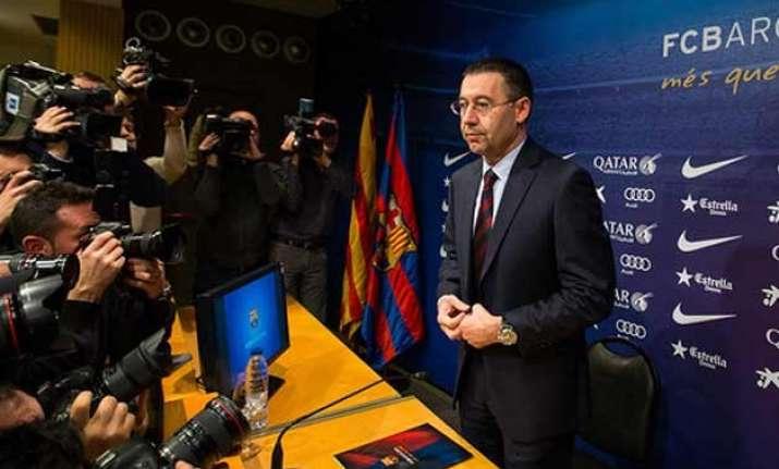 bartomeu becomes fc barcelona president