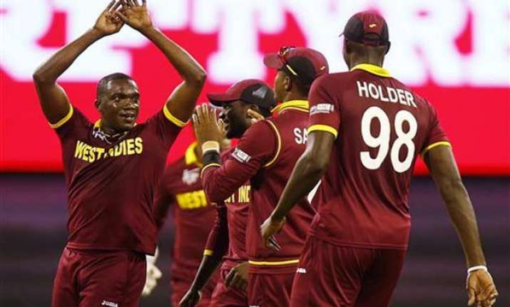 world cup 2015 west indies face uae with quarterfinal on