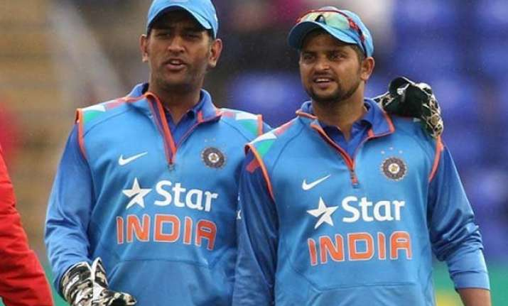 want raina to bat at no. 4 keeping world t20 in mind ms