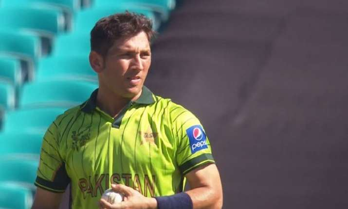 pakistan spinner yasir shah ruled out of odi series