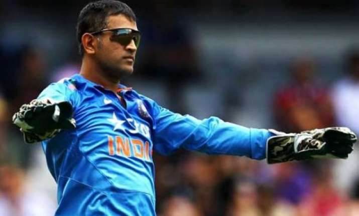 dhoni rested for first 3 odis against sri lanka