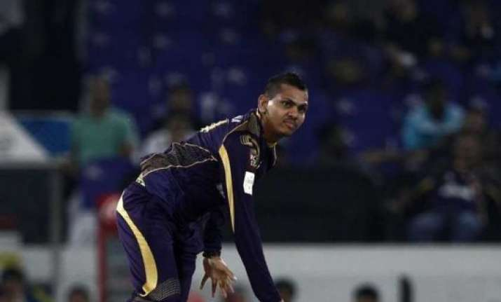 kkr coach surprised over narine being reported