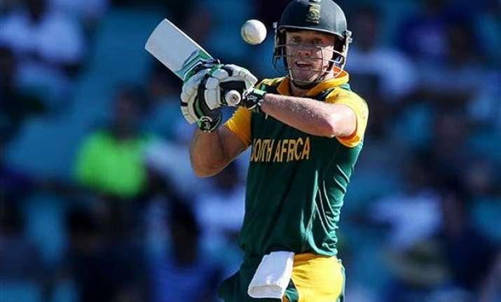 world cup 2015 cricketers applauds ab de villiers heroics