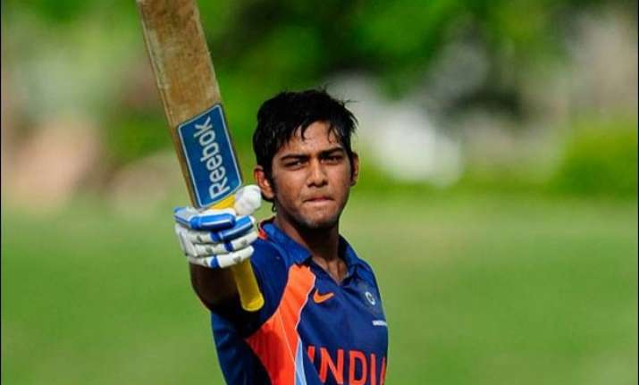 all eyes on unmukt chand as he leads india a in the tri