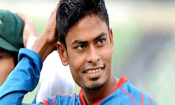 injury scare for bangladesh s taijul islam ahead of world