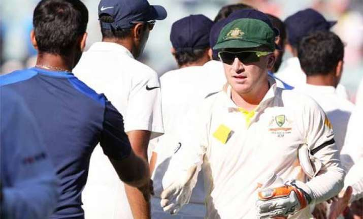 india is going to be aggressive brad haddin