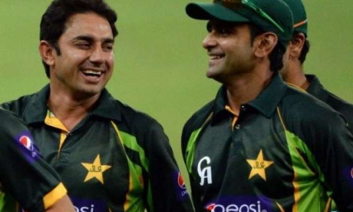 world cup pcb dilemma over saeed ajmal mohammad hafeez