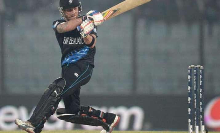world cup 2015 mccullum hits fastest fifty as nz thrashes