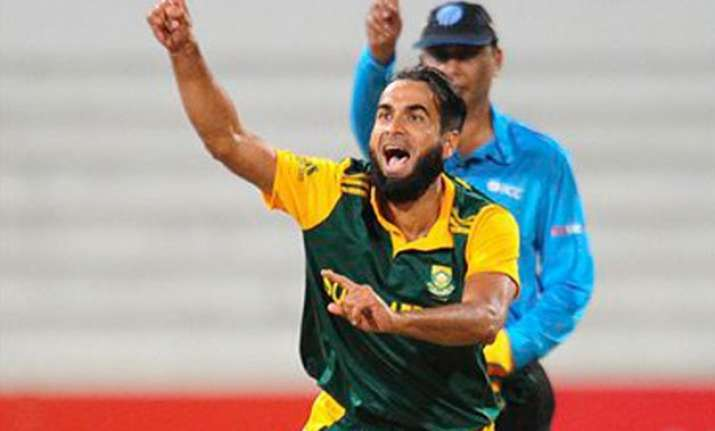 tahir leads south africa to odi series win over west indies
