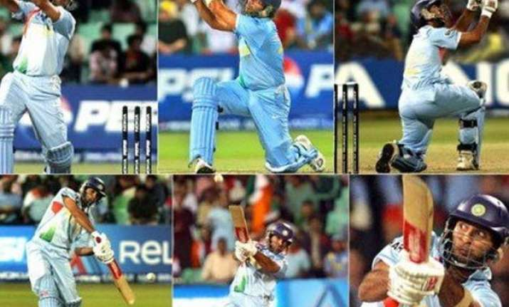 video relive yuvi s 6 sixes off stuart broad s over ahead