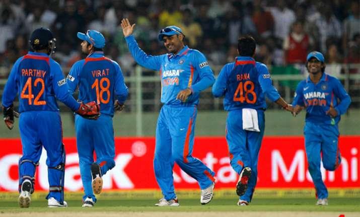 india on course for second successive odi series triumph