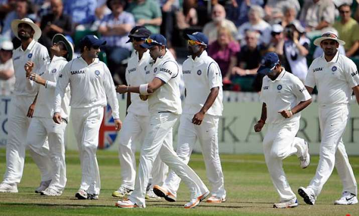 india outplayed warm up game ends in a draw